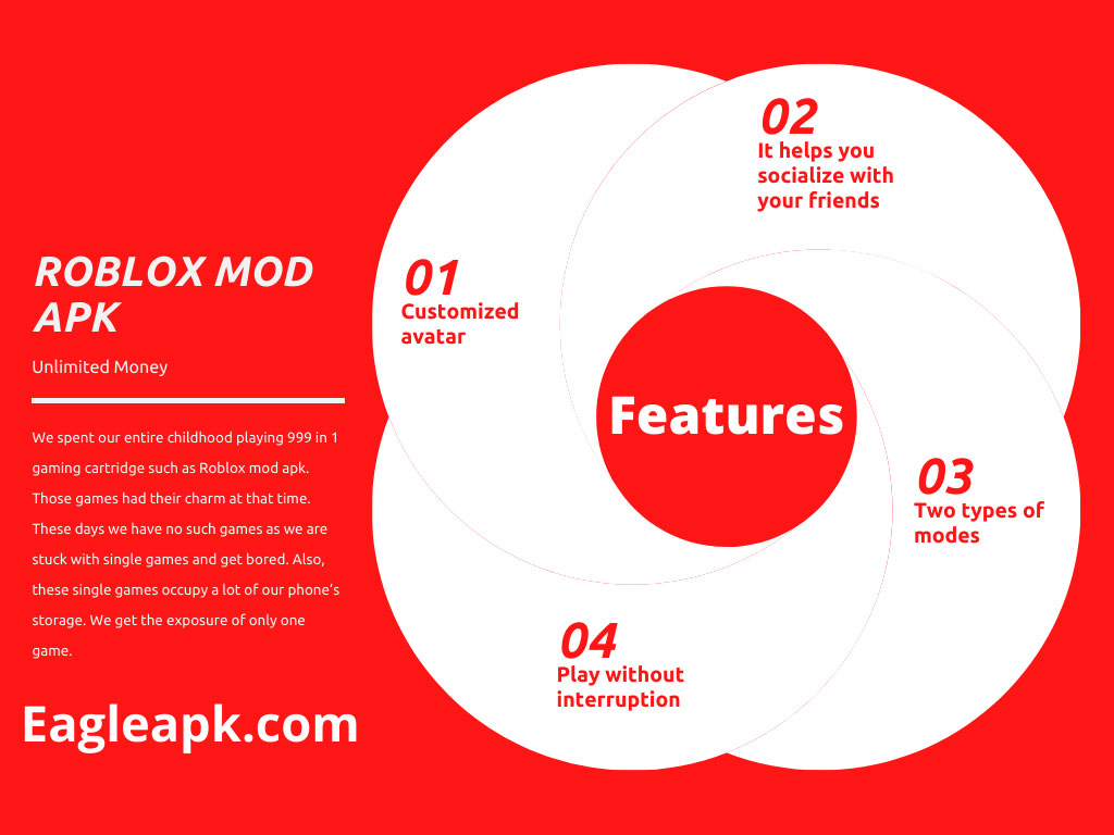 Features of ROBLOX MOD APK