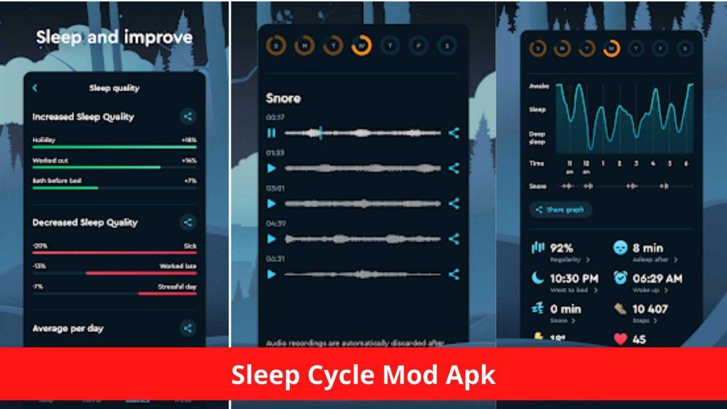 Sleep Cycle Mod Apk